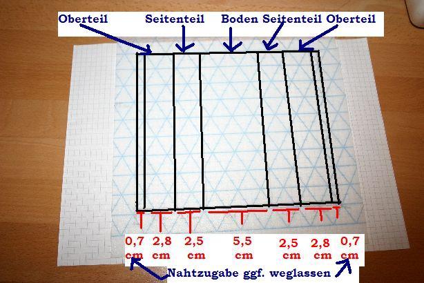Taschentuch-Hülle | Gratis Schnittmuster und kostenlose Nähanleitung